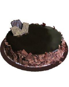 Single Layer Flourless Chocolate Cake