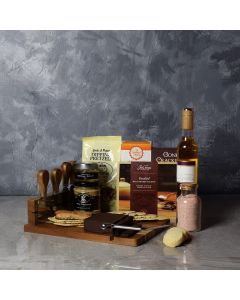 Decadent Dippers Wine Basket