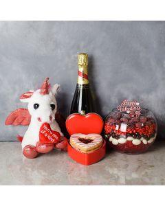 Brampton Valentine's Day Basket, champagne gift baskets, gourmet gift baskets, gift baskets, Valentine's Day gift baskets