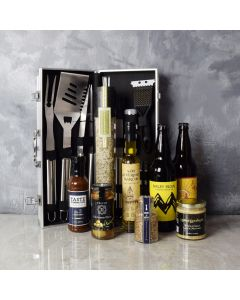 Rosedale Barbecue Gift Set, beer gift baskets, gourmet gifts, gifts, beer