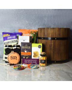 Halloween Snack & Cider Basket