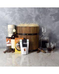 Deluxe Whiskey Barrel Gift Set