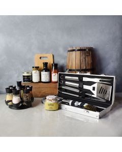 Zesty Barbeque Grill Gift Set, gift baskets, gourmet gifts, gifts