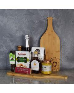 Kosher Champagne & Snacks Gift Basket