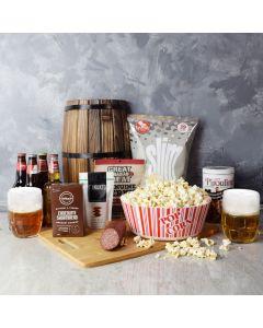 Beer & Irresistible Snacks Gift Set, beer gift baskets, gourmet gift baskets, gift baskets, gourmet gifts