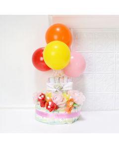 BABY GIRL'S PRACTICAL GIFT SET, baby girl gift hamper, newborns, new parents