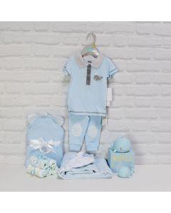 BABY BOY'S BATH & TOY SET, baby boy gift hamper, newborns, new parents