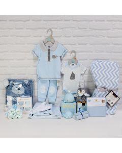 ALL FUN & NO CRY BABY BOY GIFT SET, baby boy gift hamper, newborns, new parents