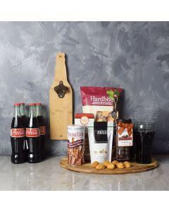 Pop A Top Snacks & Soda Basket