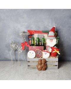 Hoppy Holidays Beer Gift Crate, beer gift baskets, gourmet gifts, gifts