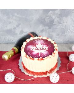 St. Lawrence Canada Day Cake  gourmet gift baskets, cake gift baskets