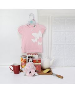 GIFT BASKET FOR A BABY GIRL, baby girl gift basket, welcome home baby gifts, new parent gifts