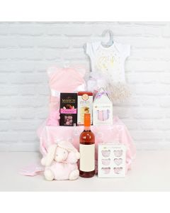 Deluxe Mommy & Baby Girl Gift Basket