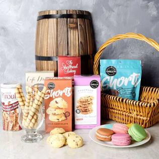 Gourmet Cookie Assortment Gift Basket Manchester