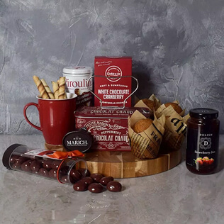 Muffin & Chocolate Delight Gift Set Manchester