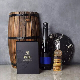 Gourmet Cookies & Champagne Gift Basket New Jersey