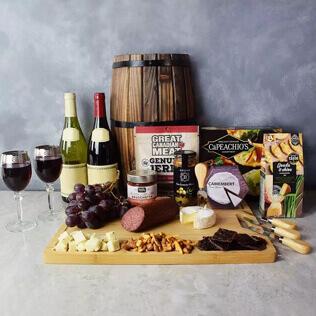 Grand Cheese& wine Gift Basket New Jersey