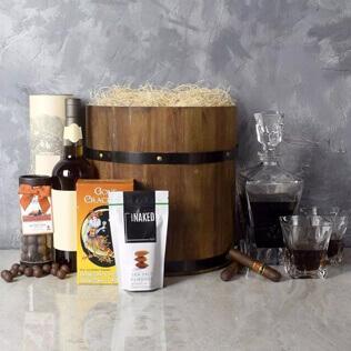 Deluxe Whiskey Barrel Gift Set Manchester