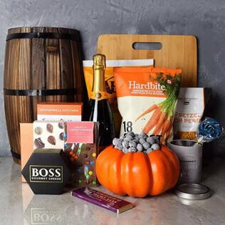 Happy Halloween Champagne Basket New Jersey