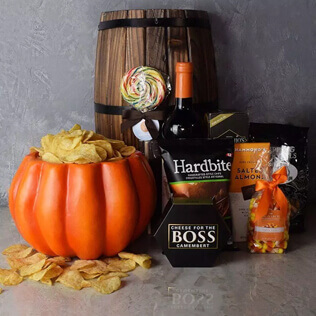 Plump Pumpkin Gift Basket New Jersey