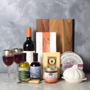Pasta Lovers Wine Gift Basket New Jersey