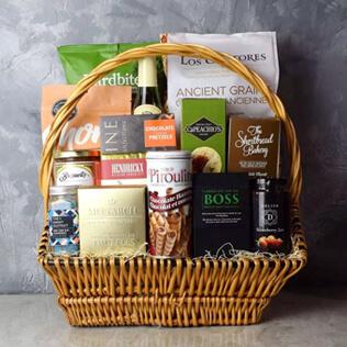 Markham Rustic Wine Gift Basket Manchester