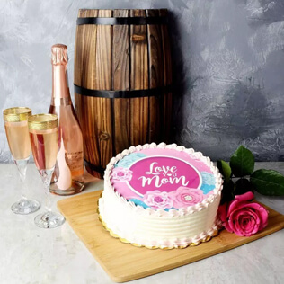 Mother's Day Champagne Gift Basket Manchester