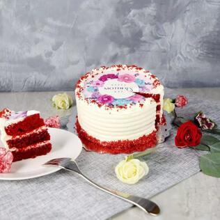Red Velvet Surprise Cake Manchester