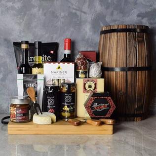 Rustic Italian Gourmet Gift Basket Baltimore