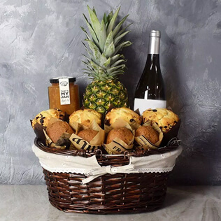 Tropical Muffin Gift Basket Baltimore