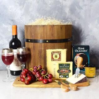 Wine & Cheese Barrel Baltimore