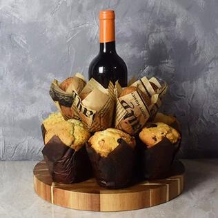 Wine & Muffins Gift Set Baltimore