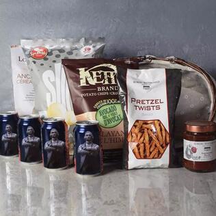 Kosher Beer & Snacks Basket New Jersey