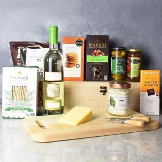 Kosher Wine & Cheese Crate New Jersey