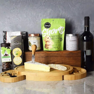 Kosher Wine & Cheese Party Crate New Jersey