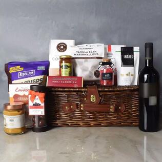 Kosher Wine & Treats Basket New Jersey