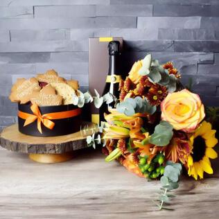 Thanksgiving Celebration Basket New Jersey