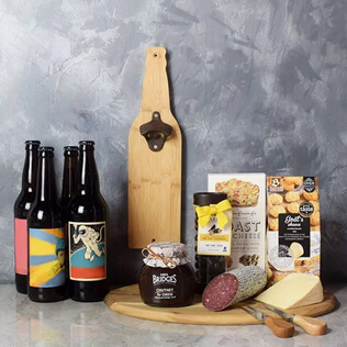 Beer & Cheese Lover's Basket New Jersey