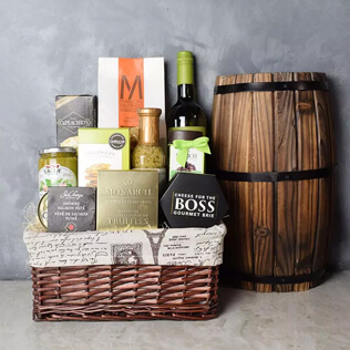 Perfect Pasta Gift Set With Wine New Jersey