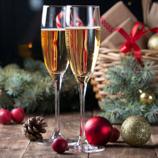 Champagne gift baskets Bullock