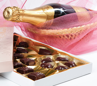 Champagne & Chocolate Gift Baskets Delivered to New Jersey