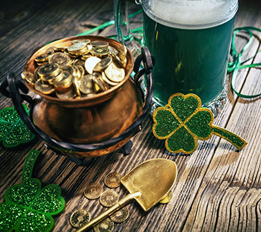 St. Patrick's Day Gift Baskets Delivered to New Jersey